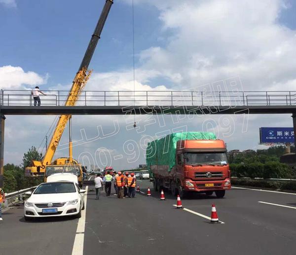 湖南省长沙市高速公路龙门跨
