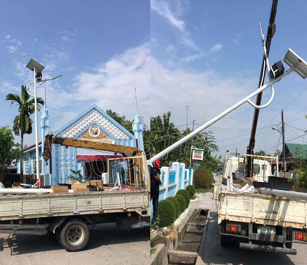 菲律宾康塞普西翁太阳能路灯