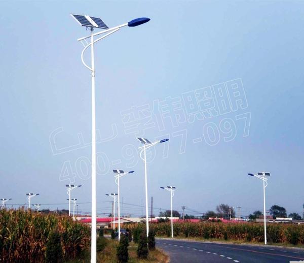广西省柳州市太阳能路灯项目