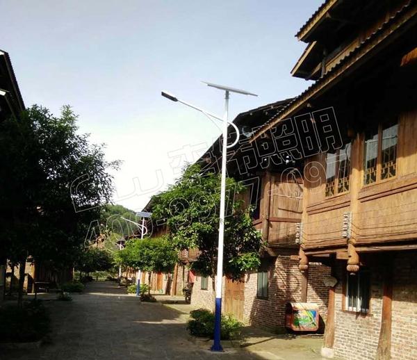 桂林市大发乡太阳能路灯项目