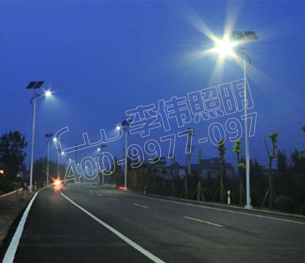 盐城市滨湖大道路灯工程