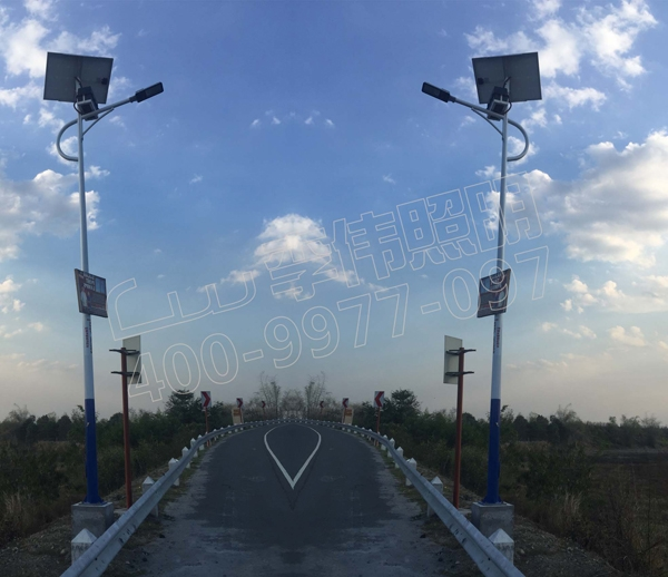 菲律宾帕赛市太阳能路灯项目