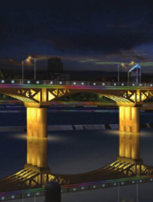 桥梁亮化设计方案